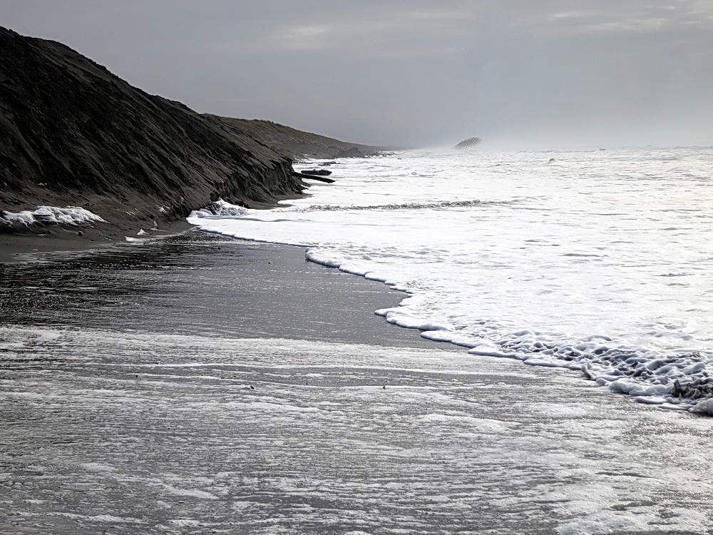 King Tide on the Clatsop County shore.\Photo courtesy of ORKingTides.
